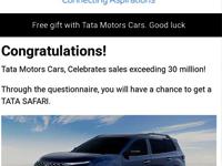 Photo of Tata Group नहीं दे रहा फ्री कार, लिंक पर क्लिक करते ही आपका फोन हैक कर लेगा हैकर जानिए क्या है इसके पीछे की खतरनाक सच्चाई
